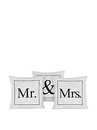 Really Nice Things Kissen 3er Set Mr - Mrs