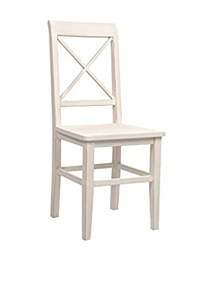 J-LINE Stuhl weiß