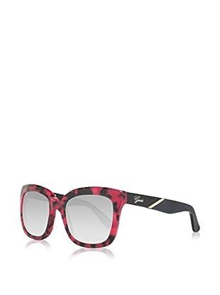 Guess Sonnenbrille GU7342 53N83 (53 mm) pink/schwarz