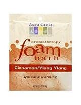 Aura Cacia Foam Bath Cinnamonylang Ylang 2.5 Oz (package Count: 6) ( Value Bulk Multi-pack)