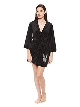 PLAYBOY Nightwear Bata Cute Kimono Cozy Nights