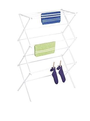 Whitmor Folding Drying Rack, White