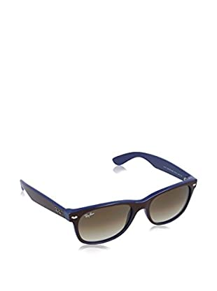 Ray-Ban Gafas de Sol New Wayfarer 2132-874/ 51 (55 mm) Marrón / Azul