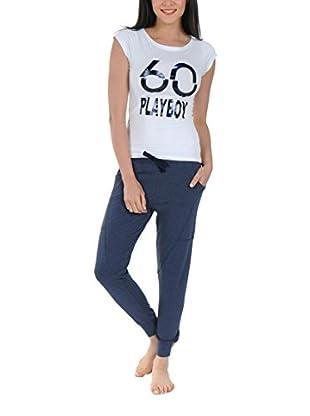 Play Boy Nightwear Pyjama Sixty Playboy