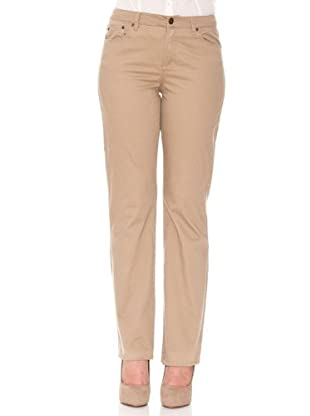 Cortefiel Pantalón Regular (Beige)