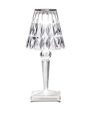 Kartell Tischlampe LED Battery kristall