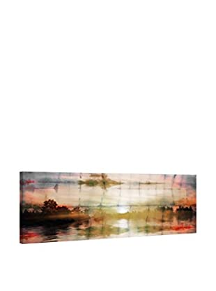 Parvez Taj Leinwandbild Painted Sunset