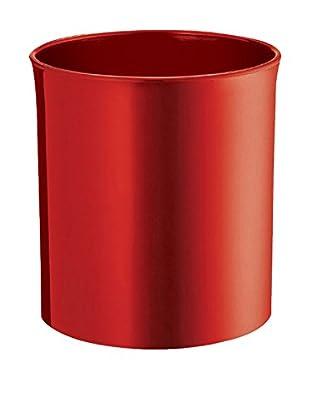 Danese  Papelera Enzo Mari 1977  Rojo