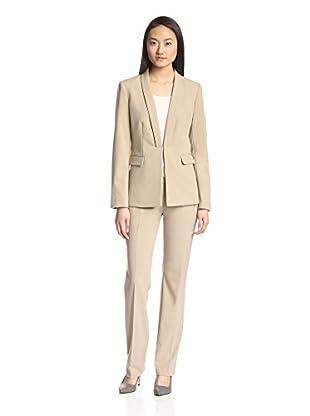 Tahari by ASL Women's Crepe Pant Suit