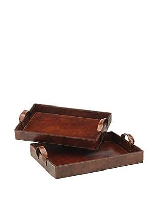 Braid Concept Tablett 2er Set IO1761T braun