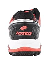 LOTTO Women`s Vector VI Tennis Shoes Black and Fluo Carrot*