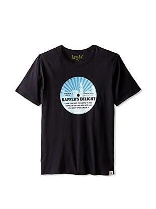Lyric Culture Men's Rapper Delight Short Sleeve T-Shirt