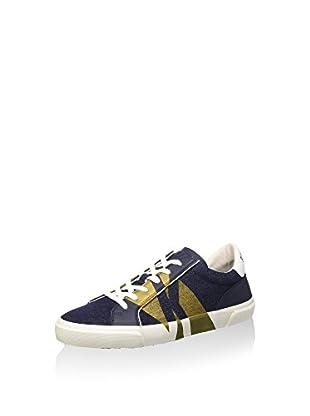 Sneaker Rubb-Er 669 L.Shoe M Denim/Leather