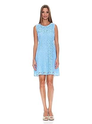 Tantra Vestido Sleeveless Lace (Azul)
