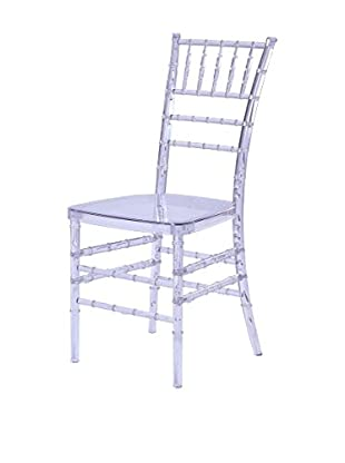 Manhattan Living Wadna Dining Chair, Clear