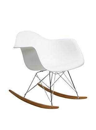 Modway Rocker Lounge Chair (White)