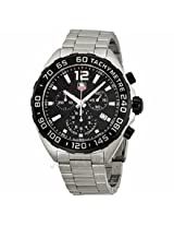 Tag Heuer Formula One Chornograph Black Dial Stainless Steel Mens Watch Caz1110.Ba0877