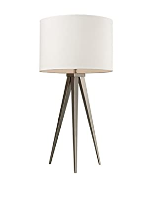 Artistic Lighting Salford Table Lamp, Satin Nickel