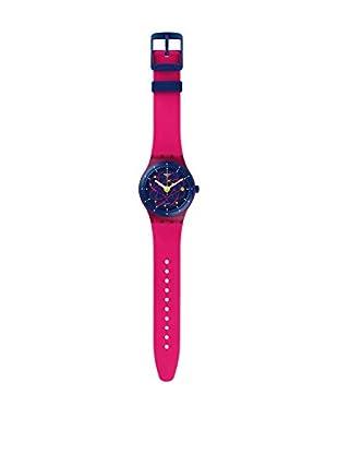 Swatch Reloj automático Unisex Sistem Pink  42 mm