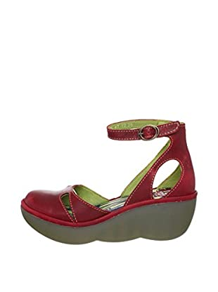 Fly London Zapatos Bessie (Rojo)