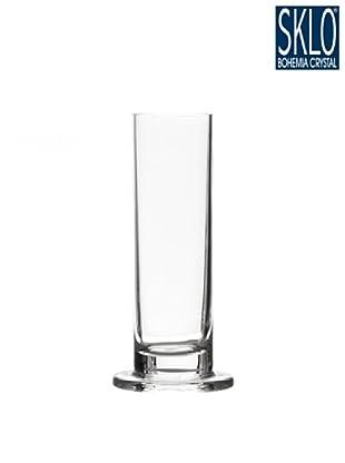 Cristal de Bohemia Florero Columna H 20 Cm