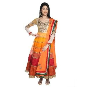 Pick Any 1 High End Semi Stitched Designer Suit by HIBA