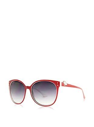 Moschino Gafas de Sol 68103S (59 mm) Rojo / Blanco