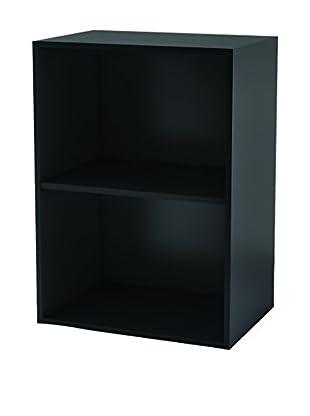 13casa Librería Simply D27 Negro