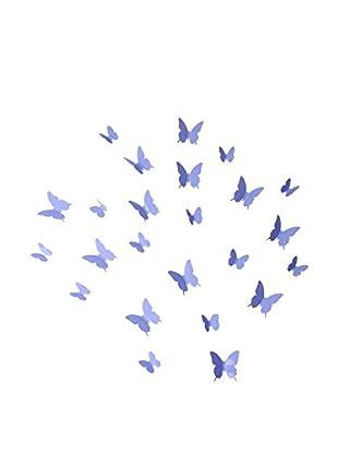 Ambiance Live Wandtattoo 12 tlg. Set 3D Butterflies
