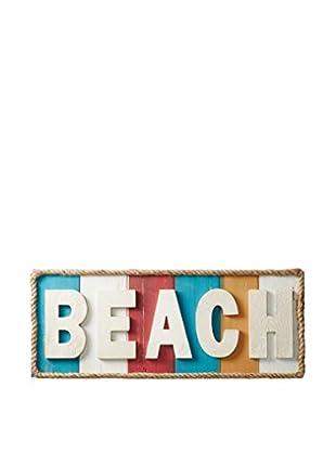Horizontal Beach Wall Sign