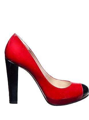 Magrit Zapatos Salón rojo / negro 39
