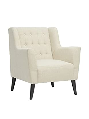 Baxton Studio Berwick Arm Chair, Beige