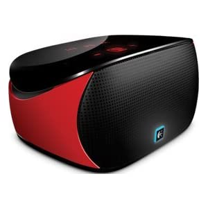 Logitech Mini Bluetooth Boombox for Tablets (Red)