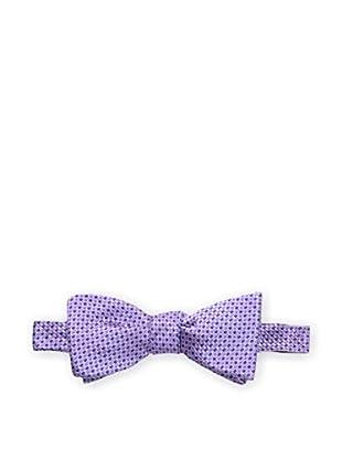 Bruno Piattelli Men's Woven Bow Tie, Purple/Pink
