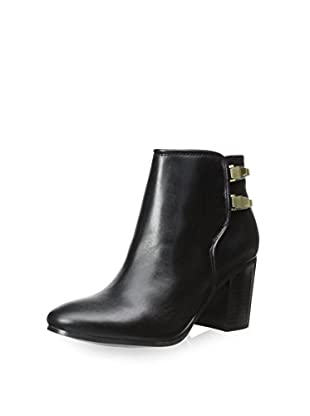 Calvin Klein Women's Ahlam Ankle Boot (Black)