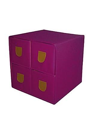 phoenix home Aufbewahrungsbox violett