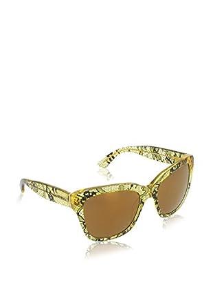 Dolce & Gabbana Gafas de Sol 4226 2974F9 (56 mm) Amarillo / Negro