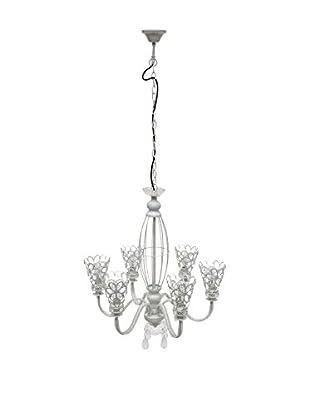 Home Ideas Lámpara De Araña Cornelia Blanco