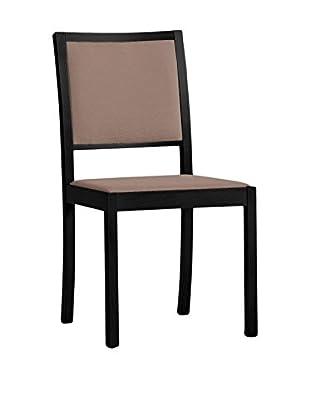 Domitalia Black Lacquered Chair