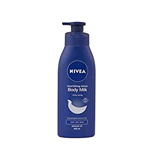 Nivea Nourishing Lotion Body Milk Richly Caring for Very Dry Skin, 400ml