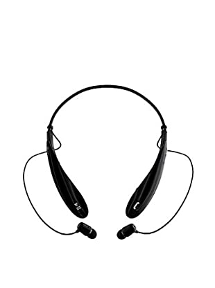 iPM Bluetooth Noise-Canceling Neckband Headset with Built-In Microphone, Black