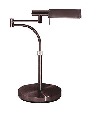 Sonneman Lighting E Tenda Swing Arm Table Lamp, Rose Bronze