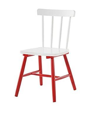 Set Silla 2 Piezas Kaos Rojo