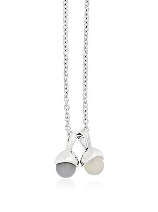 Marc O´Polo Halskette Silber  grau