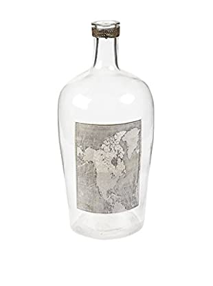 Napa Home and Garden Albanel Bottle, Clear