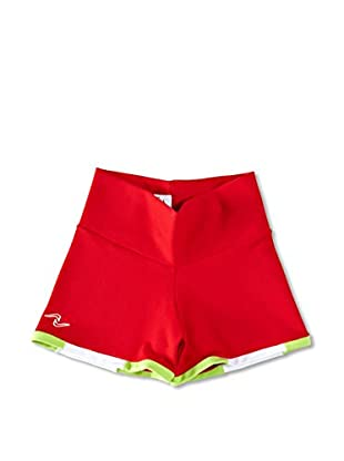 Naffta Short Niña (Rojo / Verde Claro)
