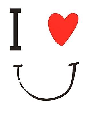 LO+DEMODA Wandtattoo I Love U