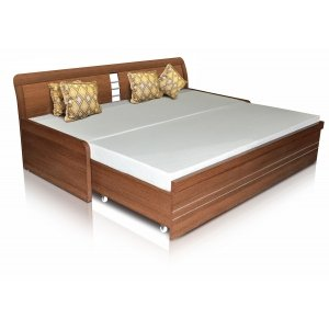 Mebelkart Spacewood Beds : Kosmo Urbano Slider Bed With Mattress