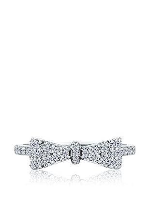 Diamond Style Bow Ring (Small)