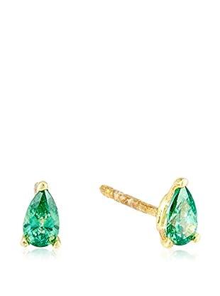 Cordoba Jewels Ohrringe vergoldetes Silber 925/goldfarben